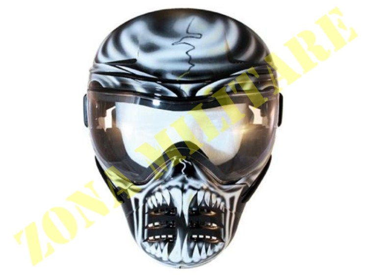 MASCHERA MIDLAND DA PAINTBALL MOD. WAR LORD