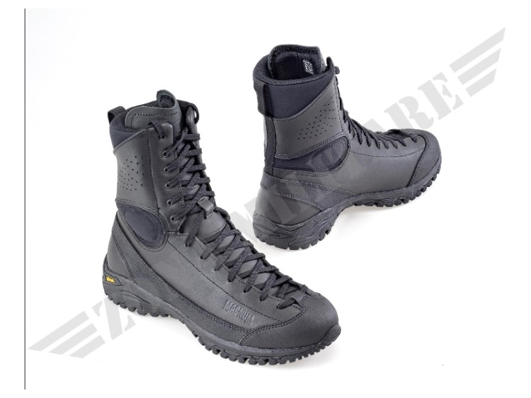 ANFIBIO APPROACH TACTICAL 8 HIGH HEIGHT LEATHER BLACK