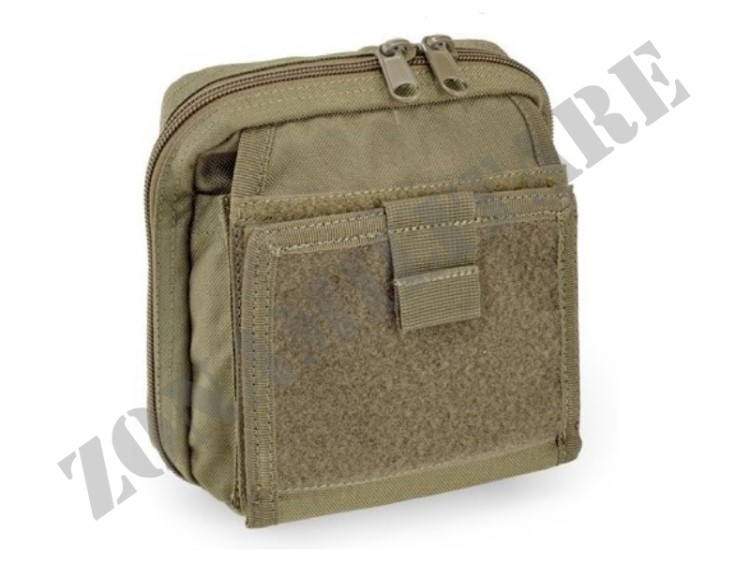 MAP POUCH WITH NOTE BOOK OUTAC DEFCON 5 OD GREEN