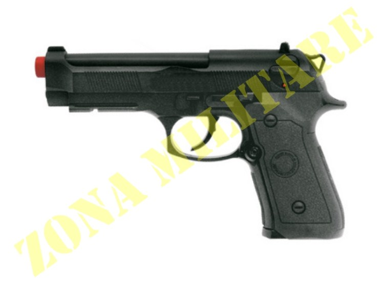 PISTOLA WIN GUN BERETTA 302 A CO2 IN ABS NERA