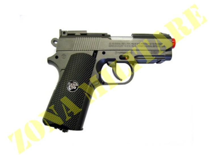 PISTOLA WIN GUN MODELLO 1911 COMBAT A CO2 METAL