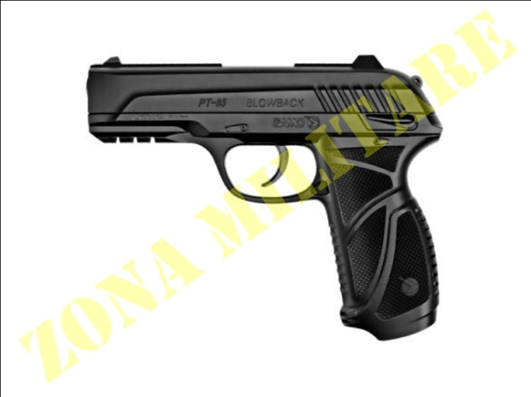PISTOLA GAMO MODELLO PT-85 CO2 CAL. 4,5 BLACK