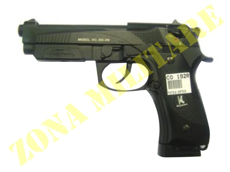 PISTOLA BERETTA 90 TWO HFC CO2 SCARR. FULL METAL