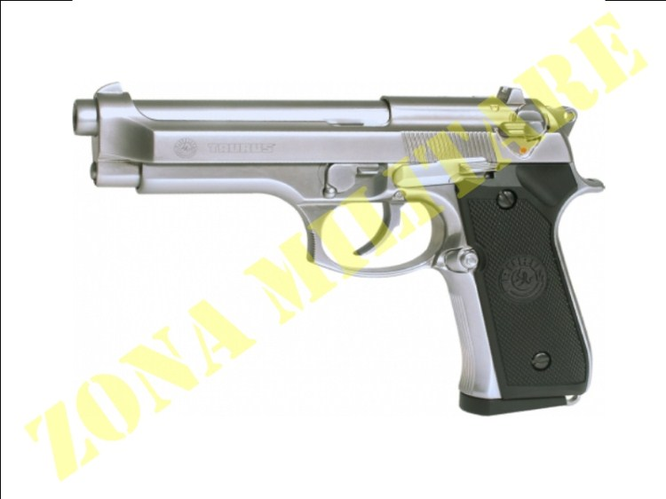 PISTOLA KJ WORKS TAURUS PT92 NO RAIL SCARRELL. CHROME