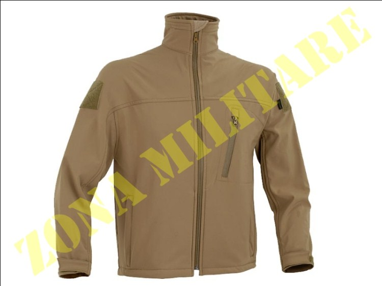 SOFT SHELL JACKET DEFCON 5 COLORE COYOTE