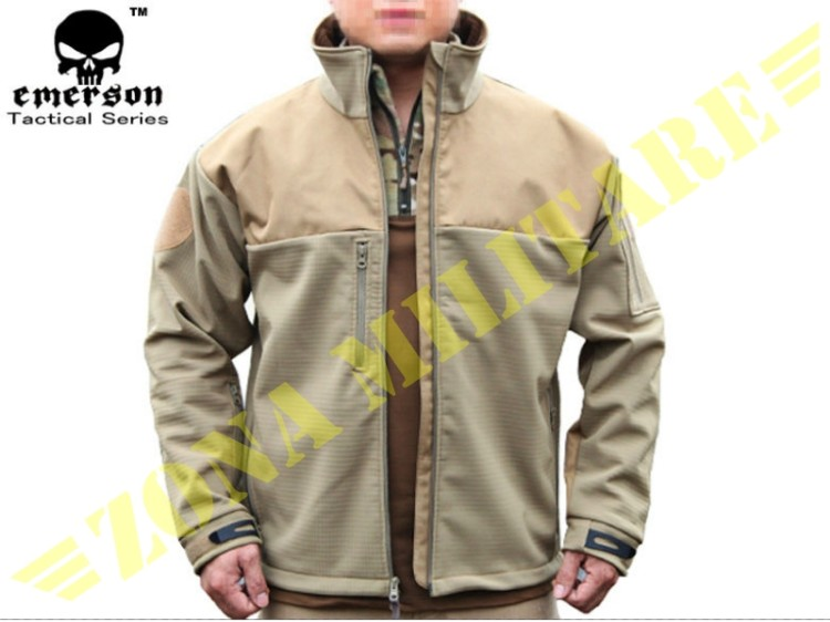 GIACCA EMERSON SOFT SHELL RANGER COLORE TAN