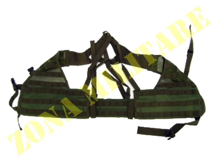 TACTICAL VEST ROYAL MOLLE COLORE VERDE