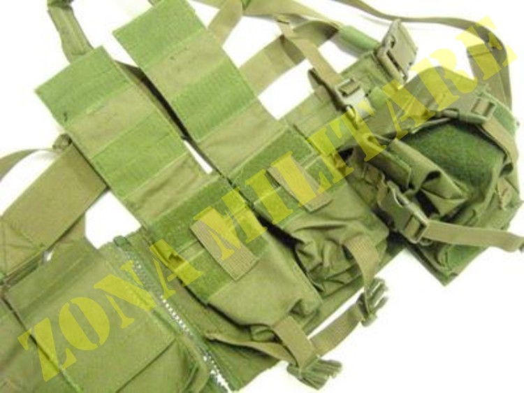 TATTICO ROYAL ACU VEST COLORE VERDE OD 900 DENIER