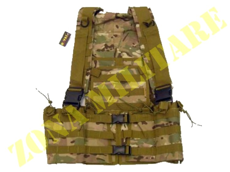 TATTICO ROYAL CON TASCA COLORAZIONE MULTICAM