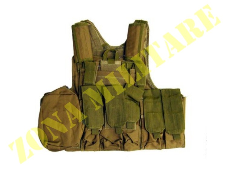 TATTICO ROYAL TACTICAL VEST CIRAS CORDURA TAN