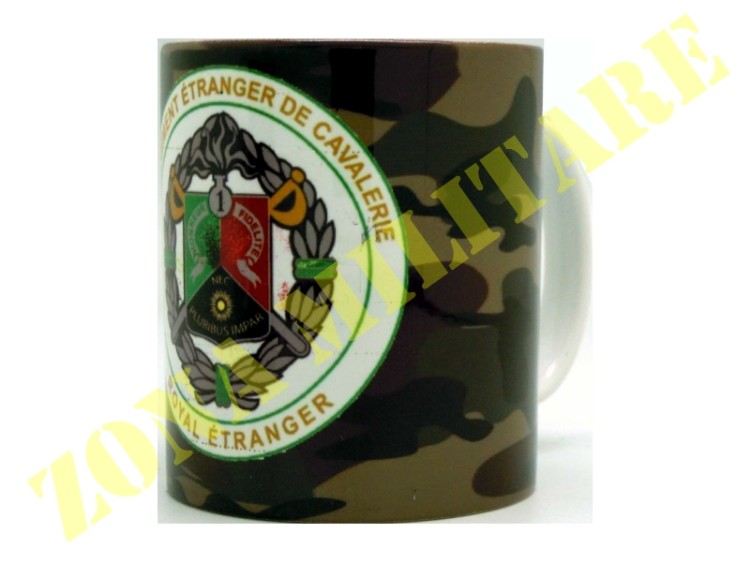 TAZZA IN CERAMICA CON STAMPA 1ST REGIMENT