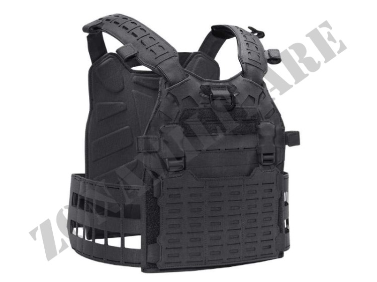 TATTICO CRUSADER PLATE CARRIER SET CPC BLACK