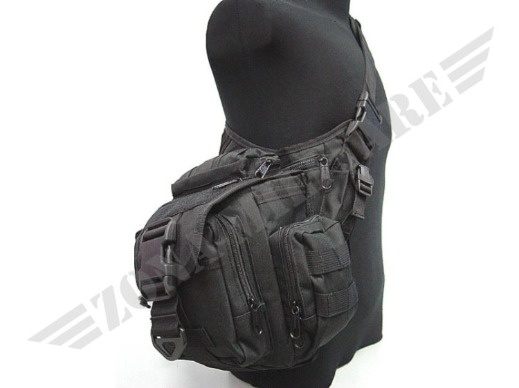 MONOSPALLA BORSA PROGEAR SHOULDER PACK BLACK