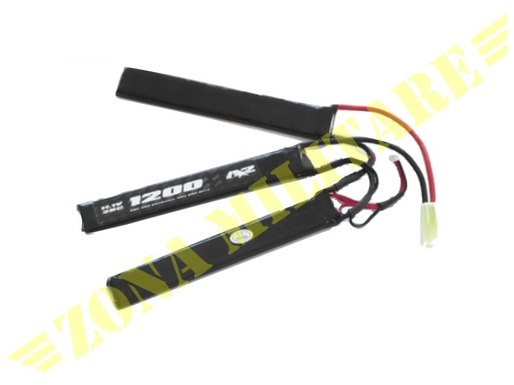 SWISS ARMS LIPO 11,1V 1200MAH 25C STICK TRIPLE
