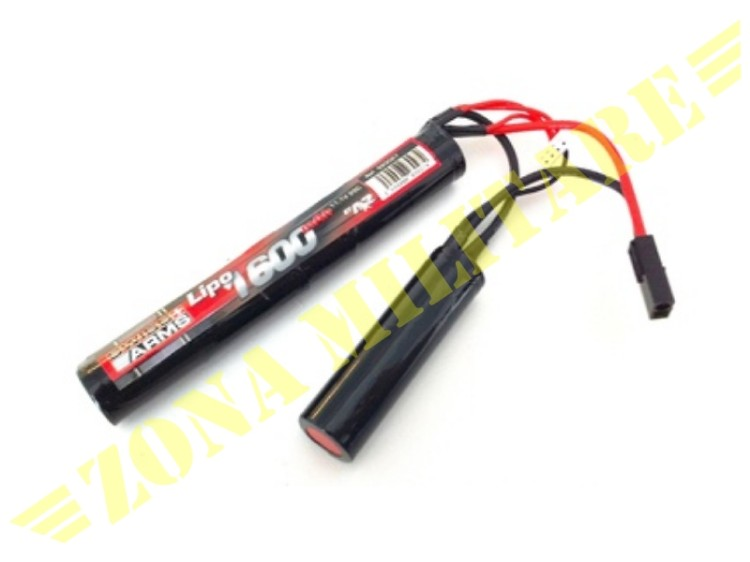 SWISS ARMS LIPO 11,1V 1600MAH 25C CRANE STOCK
