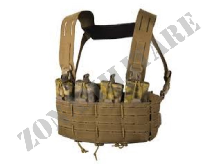 TACTICAL VEST DIRECT ACTION TIGER MOTH CHEST RIG COYOTE BROWN