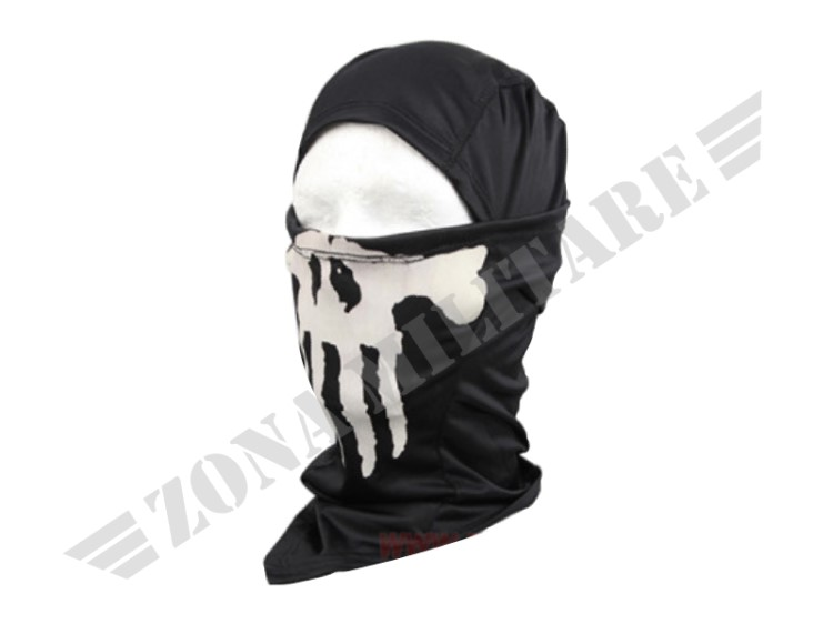 PASSAMONTAGNA EMERSON GHOST MULTI HOOD BLACK