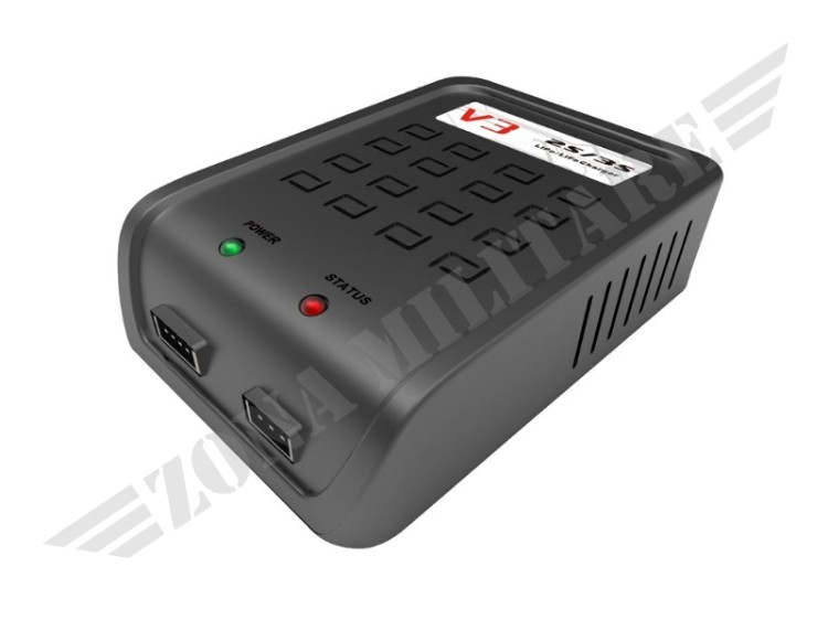 CARICA BATTERIE V3 CHARGER PER LIPO/LIFE 2S/3S IPOWER