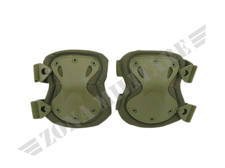 GINOCCHIERE KNEE PADS SET OD GREEN 8FIELD