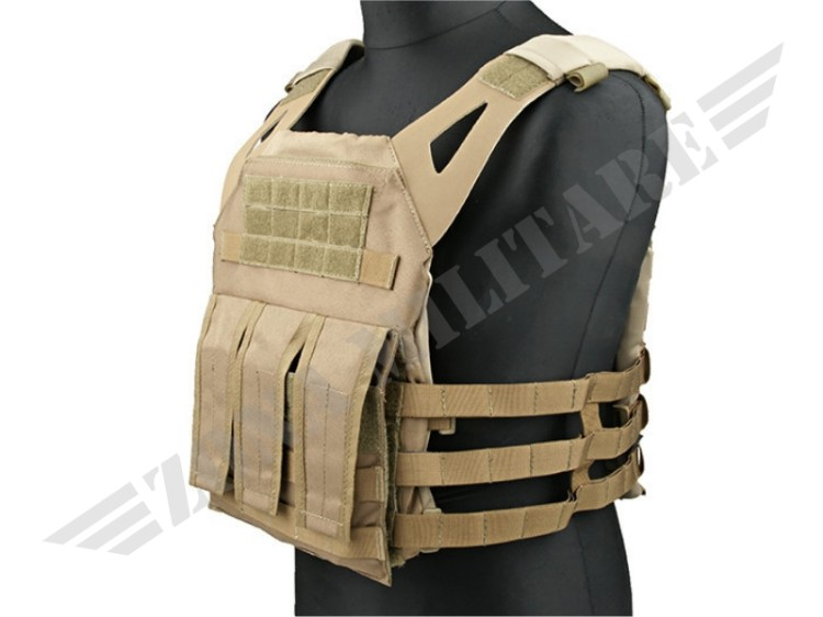 TATTICO N JUMP PLATE CARRIER COYOTE BROWN
